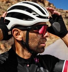 2019 modelo de Casco de Ciclismo de aire de carreras de bicicleta de carretera aerodinámica Casco de viento hombres deportes Aero bicicleta Casco