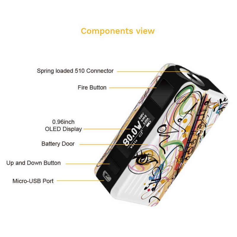 2018 newest aspire mod Original Aspire Puxos mod support 21700/20700/18650 Battery  Vaporizador E Cigarette box mod
