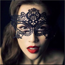 Black sexy lace Mask Halloween Masquerade party Eye Mask Pictorial photography Mask