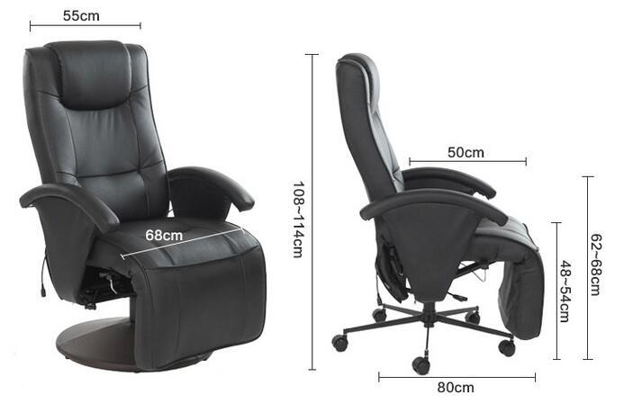 Sillón de masaje ajustable de cuerpo completo Sillón TV eléctrica - Mueble - foto 5