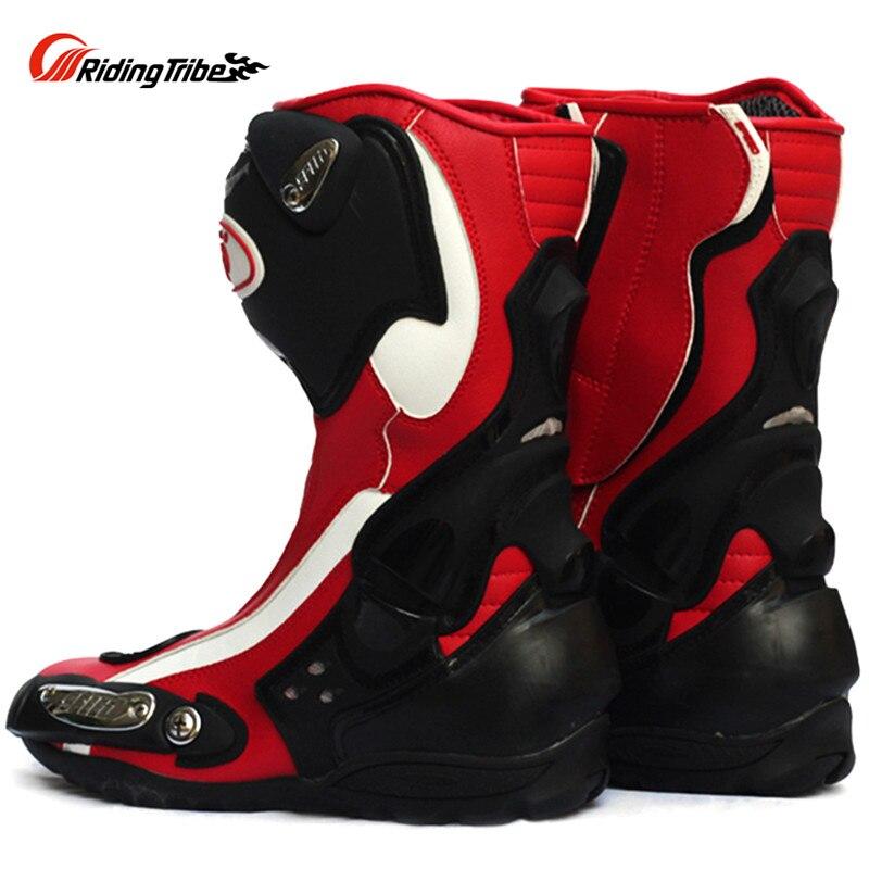 PRO SPEED Motorcycle Boots Shoes Motocross Botas Moto Motoqueiro Motocicleta A10022 Botte Botas Para Moto Racing Men Shoes