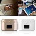 12v-24v High Quality White/Golden New 3 Socket Car-Charger Cigarette Lighter Adapter Car Splitter 3.1A 2 USB Port Switch
