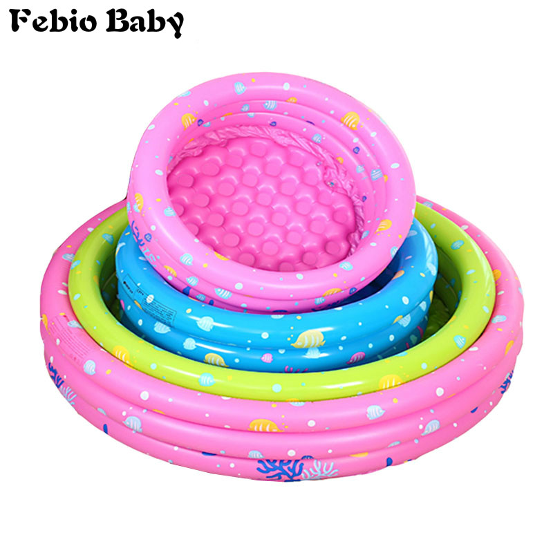 Inflatable 2019 Baby Swimming <font><b>Pool</b></font> Piscina Portable Outdoor Children Basin Bathtub kids <font><b>pool</b></font> baby swimming <font><b>pool</b></font> <font><b>water</b></font> image