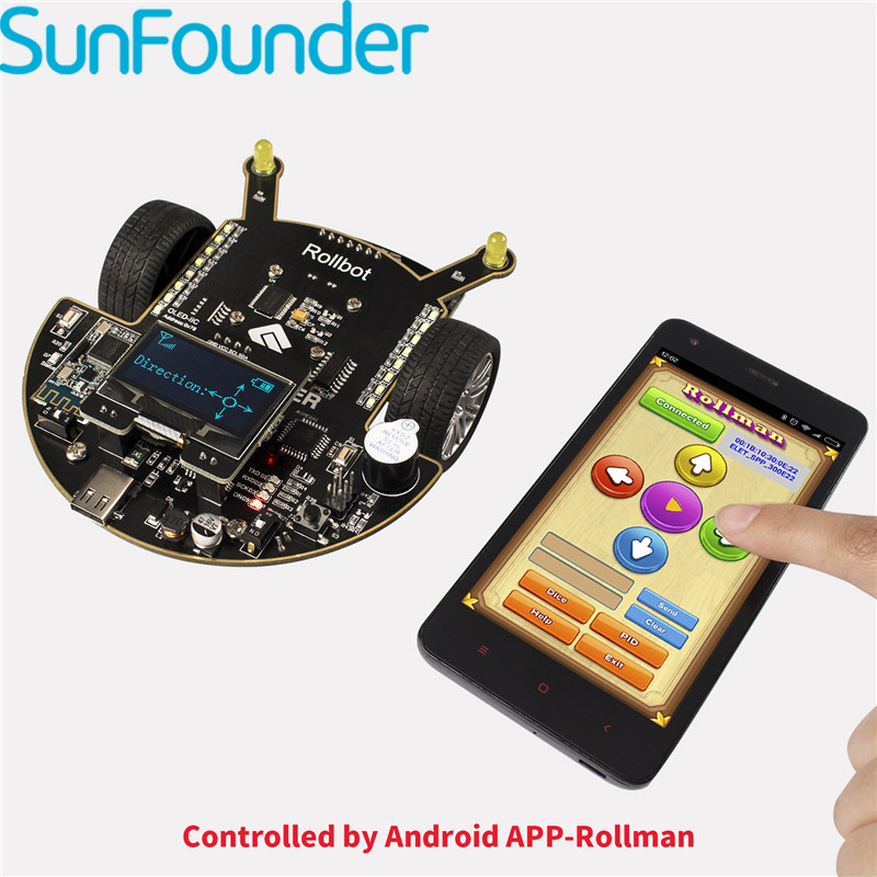 SunFounder APP Controlled Toy For Arduino Educational DIY Robot Kit For Children and Grownups