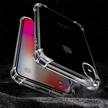 hot deal buy phone cases for iphone x transparent clear silicone case for iphone 8 8 plus shockproof  cover for iphone 7 7 plus 6 6 plus case