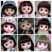 OB11 кукла голова Кастомизация 1/8 BJD куклы OB голова DIY кукла из полимерной глины