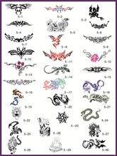Template tattoo golden phoenix NO.05 airbrush tattoo stencils 30pcs Totem theme picture