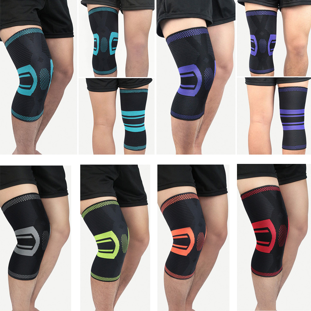 Elastic Sports Knee Pads Brace Support Running Fitness Knee Protection 1 Piece SPSLF0090