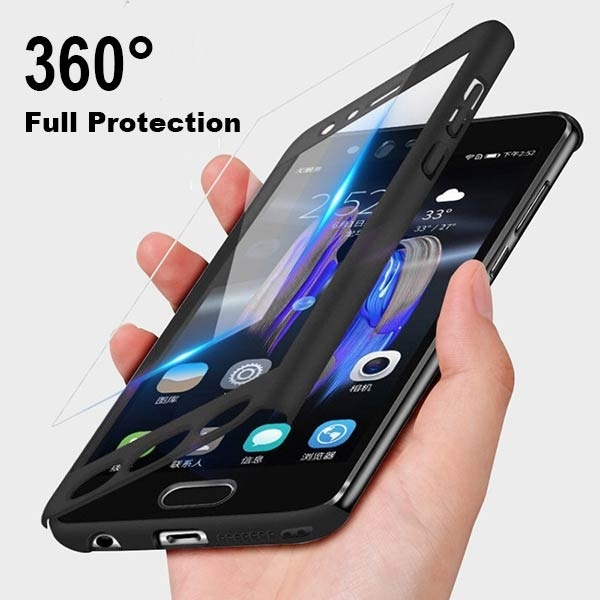 360 Full Cover Hard Case for <font><b>Samsung</b></font> Galaxy A3 A5 A7 for <font><b>Samsung</b></font> Note <font><b>5</b></font> 8 Drop Mobile Phone Case for S6 S6 S7 Edge S8 S9 Plus image