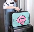 2017 de la Alta Calidad linda de embarque bolso del paquete portátil de viaje para recibir gran capacidad paquete de ropa equipaje maleta de viaje