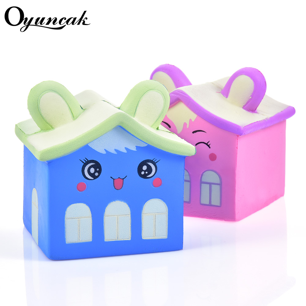 Oyuncak Antistress Fun Squishy Slow Rising Squishe House Novelty Gag Toys Stress Relief Toys Gadget Gag Practical Jokes Toy цены
