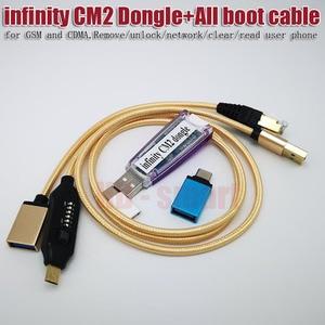 Image 2 - 100% 無限大CM2ボックスドングル + umfすべてブーツケーブルgsmとcdma、削除/ロック解除/ネットワーク/クリア/リードユーザーの電話