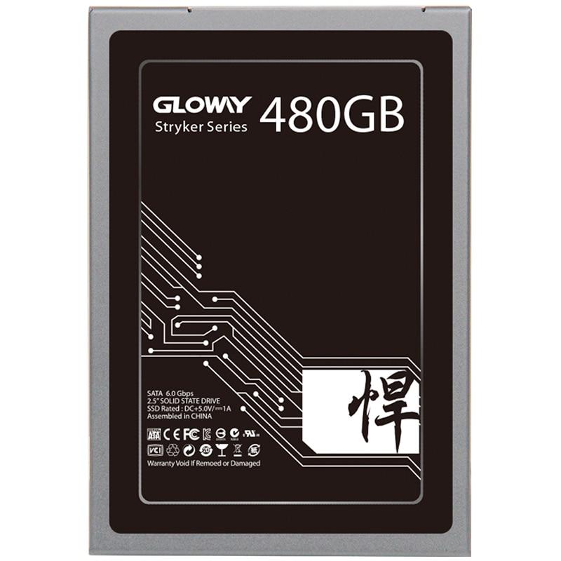 Gloway 5 anos de garantia de Alta qualidade 480GB SSD 1 SATA3 TB SATAIII SSD 240gb SSD drive de estado Sólido HD com preço de Fábrica 720gb 2t