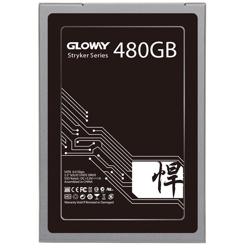 Gloway Hohe qualität 5 jahre garantie SSD 480 GB 1 TB SATAIII SSD SATA3 240 gb SSD Solid state drive HD mit Fabrik preis 720 gb 2 t