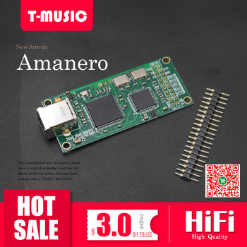 2019 new xmos xu208 usb digital interface support dsd512 pcm768k Amanero USB Digital Interface USB Module For DAC I2S Out 384K DSD512