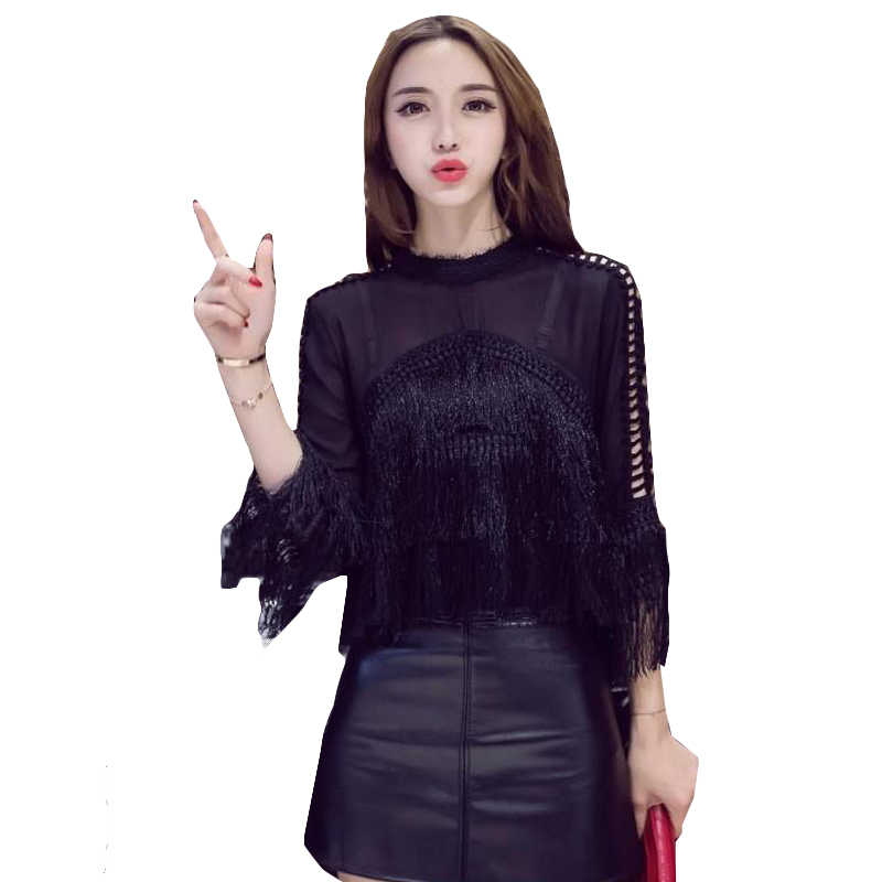 Fashion Style Streetwear Chiffon Tops Designer Fashion Brand Spring Women Blouses Turn-down Collar Shirts French Bulldog Blusa Vetement Femme Blouses & Shirts