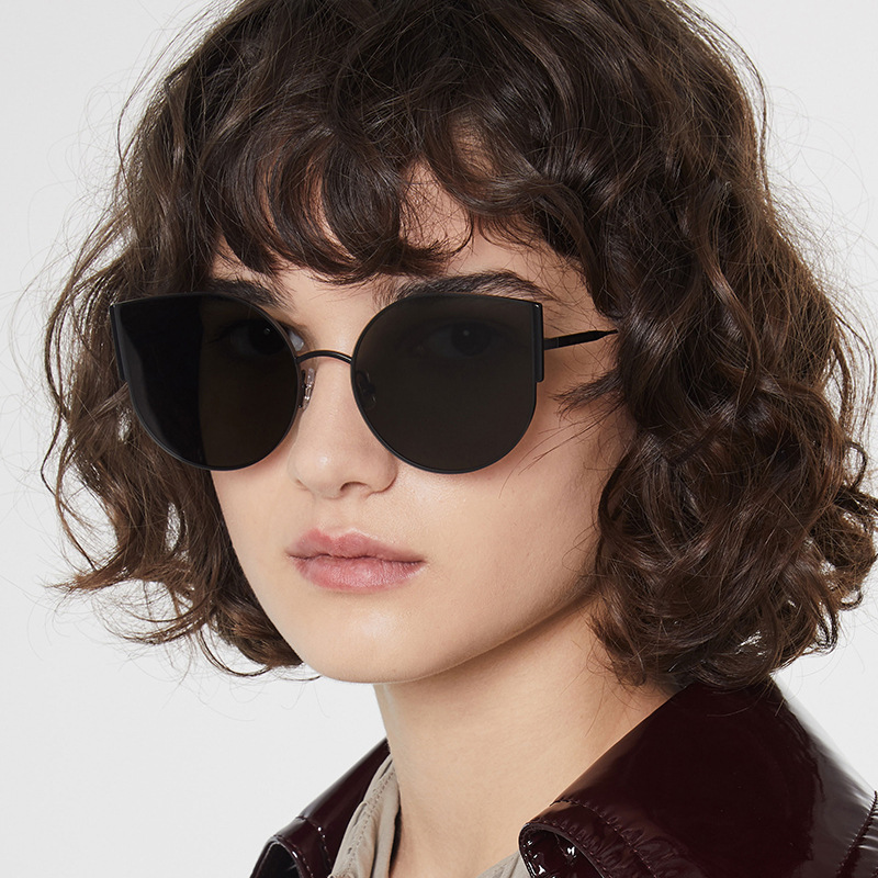 2020 New Women Cute Cat Eye Sun Glasses Female Brand Designer Sunglasses Retro Goggles Cateye Sunglass Oculos De Sol UV40