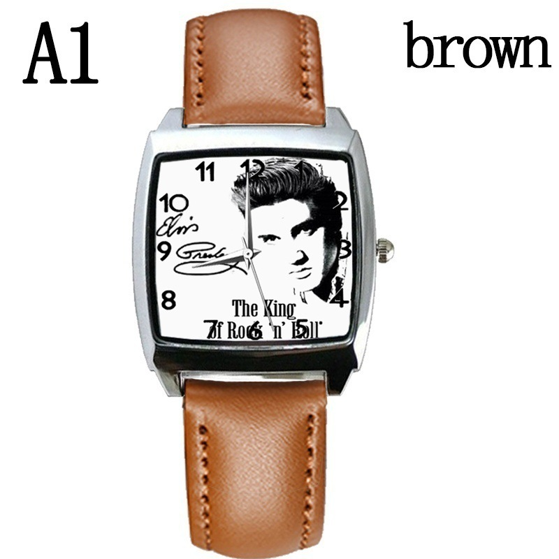 Watches Quartz Wristwatches 2019 New Fashion Style Boys And Girls Elvis Presley Watch Strap Watch Gift