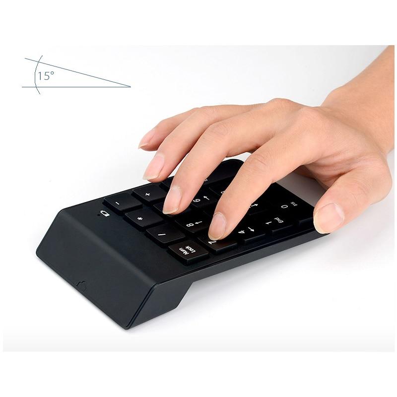 Juhtmevaba 18 võtit Numbriline klaviatuur Mini kaasaskantav Numpad - Arvuti välisseadmed - Foto 3