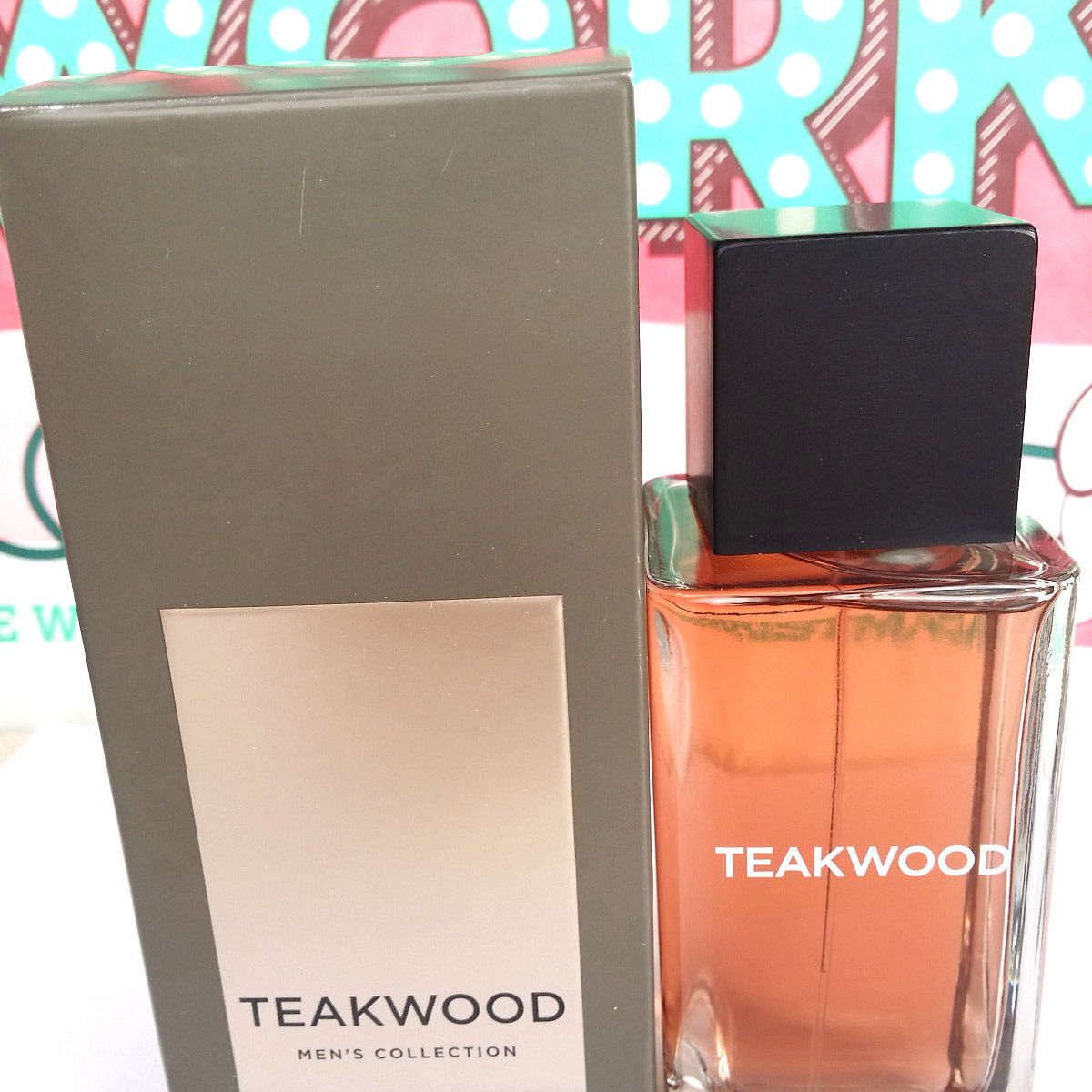Bath and Body Works Teakwood Men's Collection 3.4 Ounce Cologne Spray