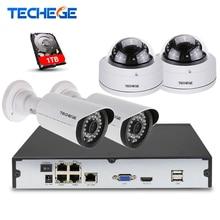 4CH 1080 P POE 48 В реального NVR комплект 1080 P HD камера купольная камера 2.0MP POE ip-камера ИК 20 м POE камеры видеонаблюдения системы plug and play