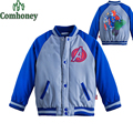 Captain America Jacket for Boys Minnie Mouse Baby Outwear Autumn Winter Superhero Sport Coat Girls Baseball Jacket Kid Tracksuit
