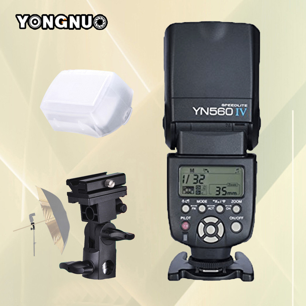 YONGNUO YN560IV YN560-IV Speedlite YN560 IV YN-560IV For Canon Nikon Pentax Universal DSLR Camera Wireless Flash Speedlight genuine meike mk950 flash speedlite speedlight w 2 0 lcd display for canon dslr 4xaa