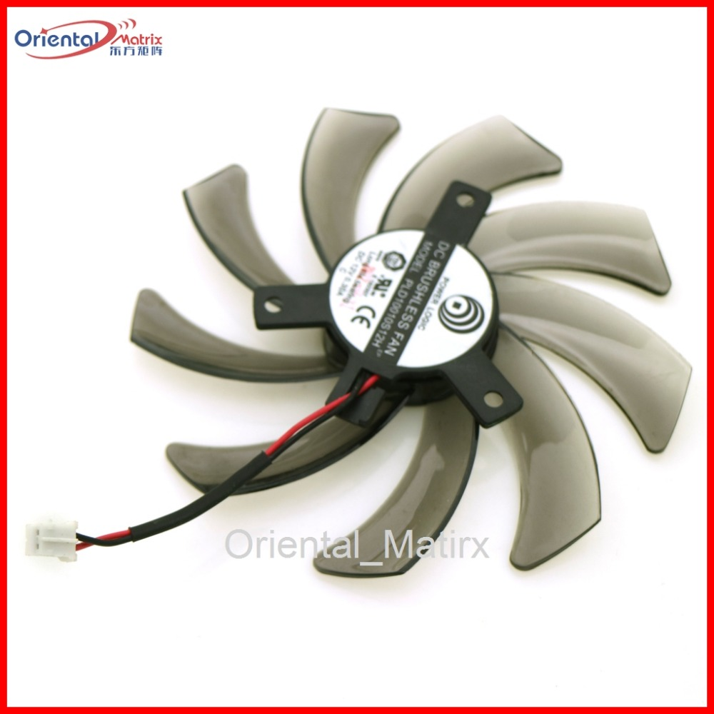PLD10010S12H 12V 0.30A 95mm VGA <font><b>Fan</b></font> 2Pin For Gigabyte Graphics Card Cooling <font><b>Fan</b></font> image