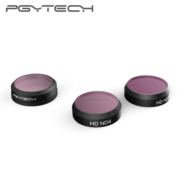PGYTECH DJI Mavic Air Camera Filters ND4 8 16 32 PL UV CPL Protector Lens HD filter Kit for DJI Mavic Air Drone Accessories Part