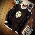 Estrella de cine Cómico Libros Estrella Camiseta Retrato de La Cabeza de Manga Larga American Drama El Flash Camiseta 5XL sT685