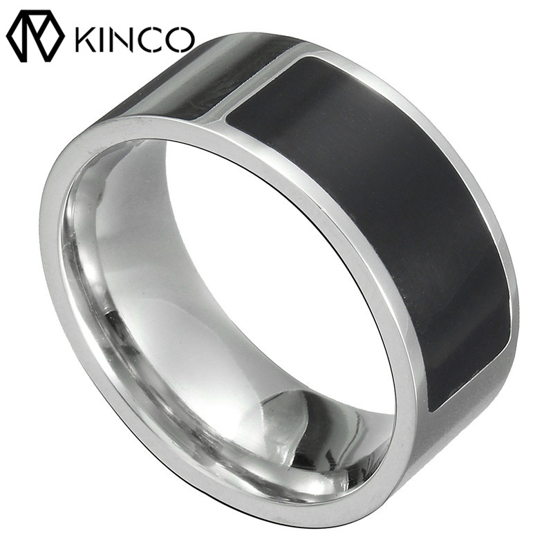 KINCO 7/8/9/11/13 NFC Multi-functional Waterproof Tag Smart Magic Ring Wearable for IOS for Samsung Android Phones Silver