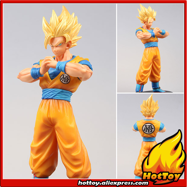 Original Banpresto DXF THE SUPER WARRIORS vol.5 Collection Figure - Super Saiyan Son Goku From Dragon Ball SUPER dragon ball dxf the super warriors vol 3 super saiyan rose gokou black and vegetto pvc figure collectible model toys kt4201