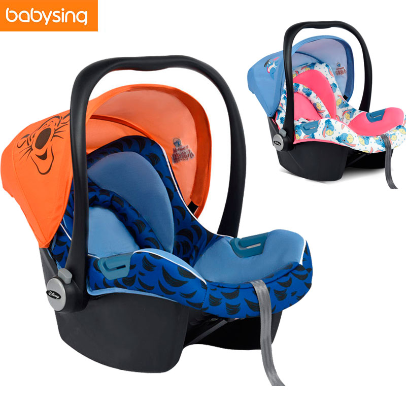 Babysing Baby Car Safety Seat Sleeping Basket Portable Newborn Baby Carrier Basket Safety Car Seat Cradle for Baby 0~12 M maritime safety