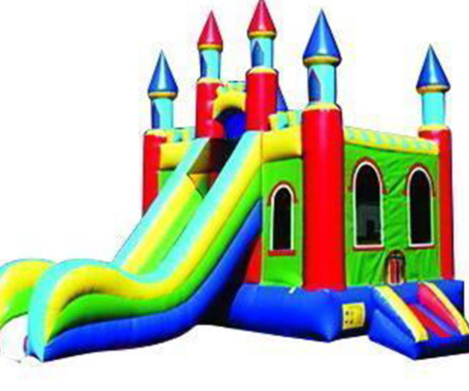 PVC commercial use inflatable slide combo jumping inflatable bouncy house for childrenPVC commercial use inflatable slide combo jumping inflatable bouncy house for children