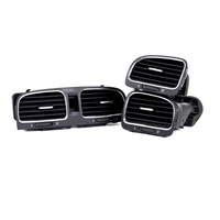 ELISHASTAR OEM 3 PCS Air Conditioning Outlet Center Air Vent Assembly Vent FOR GOLF 6 GTI MK6 2009 2013 5KD819728/703/704
