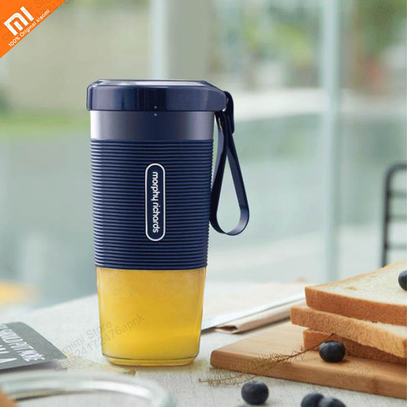 Original xiaomi mijia juice cup portable DIY juicer features fruit juicer mini rechargeable vegetable orange juice