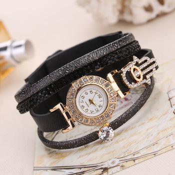 Fashoin Bracelet Watch Women Luxury Gold Crystal Dress Watches Ladies Vintage Quartz Wristwatches Montre Femme Relogio Feminino vintage fashion square watch blingbling crystals women dress wristwatches quality melissa quartz relogio feminino montre fs12173