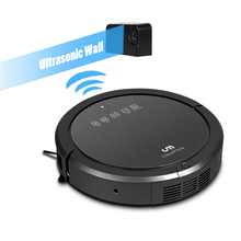 free shipping to USA strong suction power robot vacuum cleaner AUTO clean kinds of foors and carpet