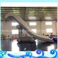 Hot sale inflatable water yacht slide wahoo inflatable slide game play on water big water inflatable slide