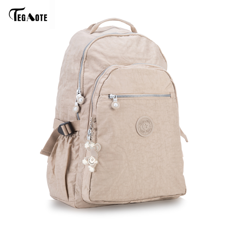 TEGAOTE Women Backpack For Teenage Girls Kipled Nylon Backpacks Mochila Feminina Female Travel Bagpack Schoolbag Sac A Dos Bag