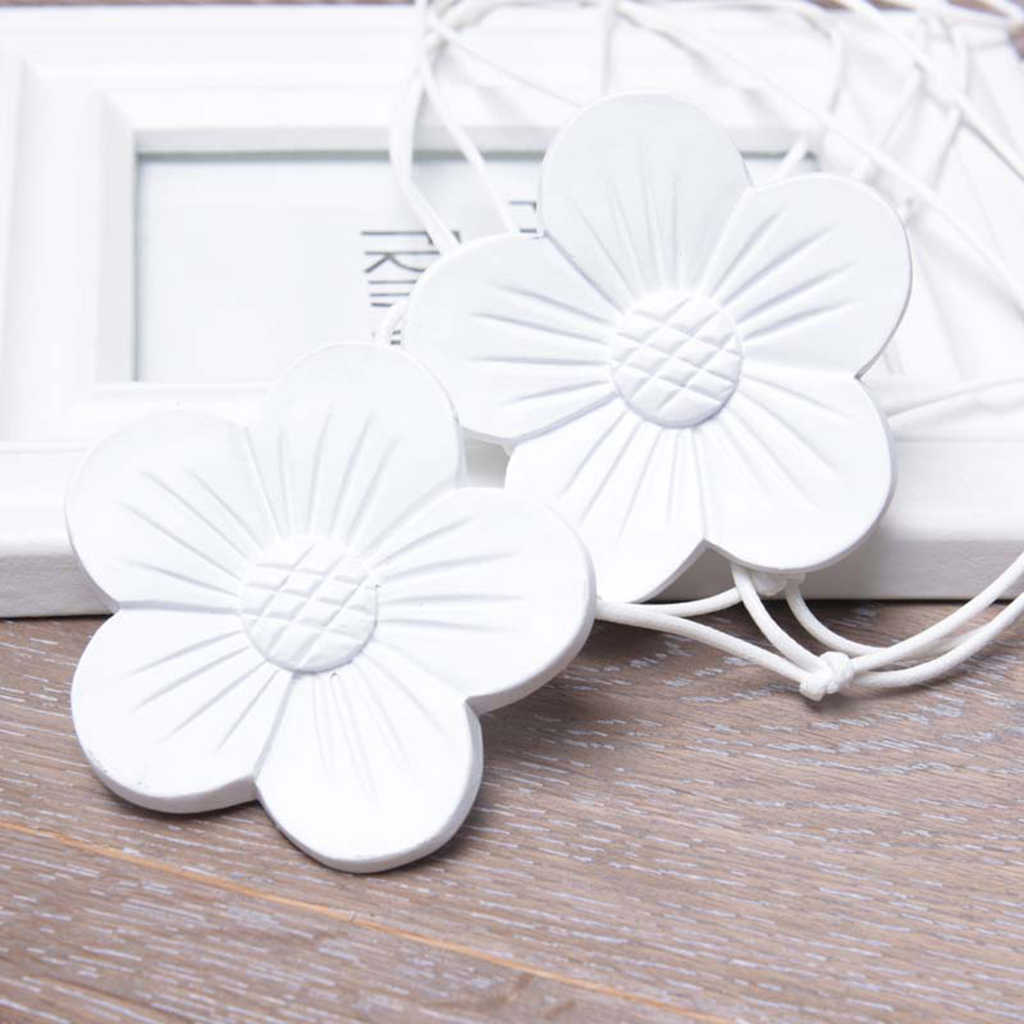 Modern Magnetic tie-backs Buckle for curtains voiles Flower Ribbon #3 nets