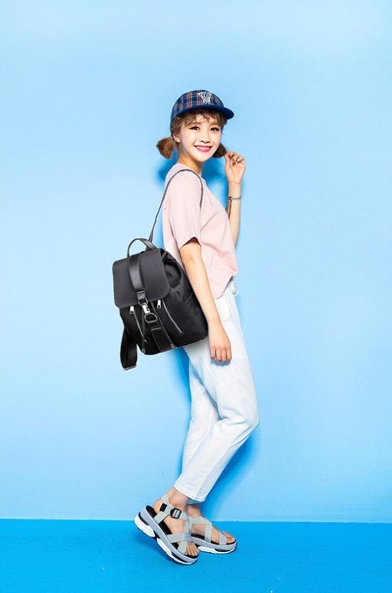 HTB1wiR2OYvpK1RjSZPiq6zmwXXaQ Women Backpack Designer High Quality Nylon Women Bag Fashion School Bags Large Capacity Knapsack Casual Travel Bags