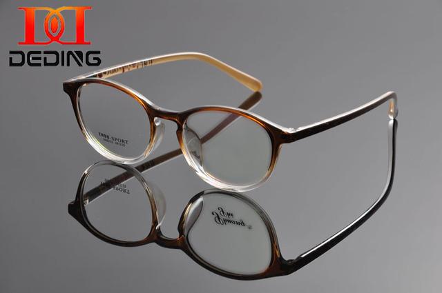 Deding женщин высокое качество ультра-легкие привлекательный дизайн кошачий глаз TR90 оптические очки óculos де грау Femininos DD1102