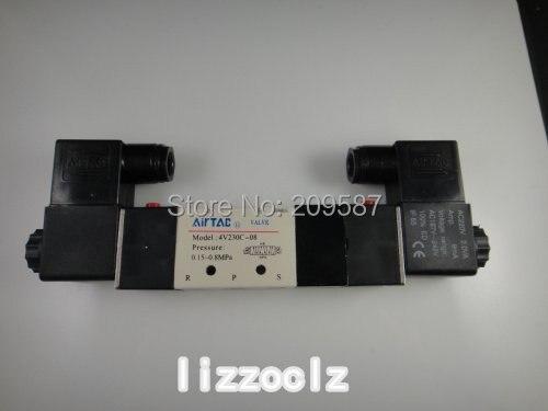 Heimwerker 4v230c-08 Dc 12 V 3 Position 5 Way Air Magnetventil Krankheiten Zu Verhindern Und Zu Heilen Sanitär
