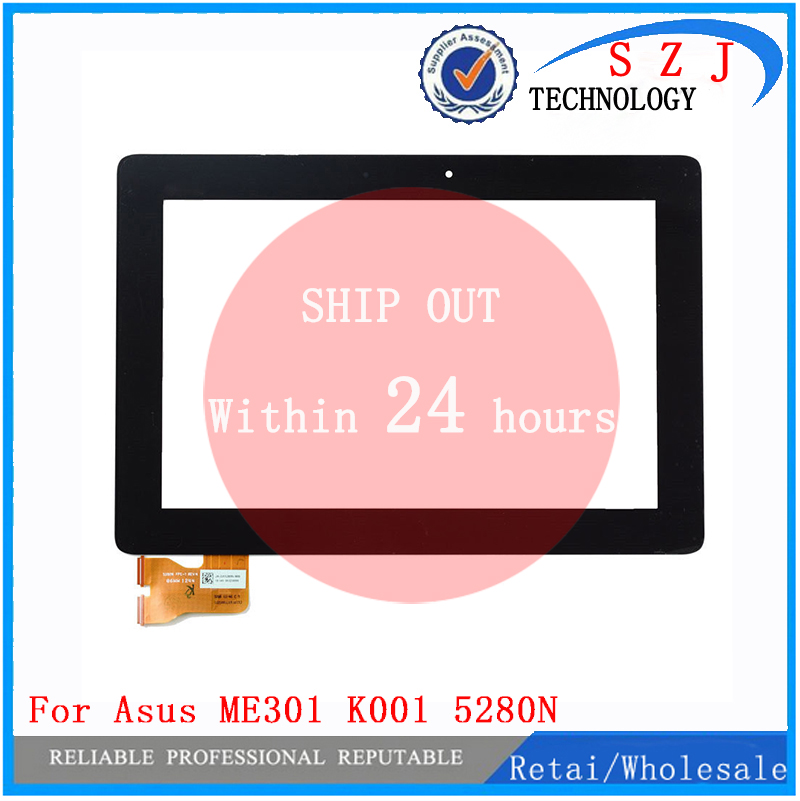 New 10.1'' inch  FOR Asus MeMo Pad Smart 10 ME301 ME301T 5280N FPC-1 Rev.4 Tablet Touch Screen Panel Glass free shipping 10 1 inch sg6179 fpc