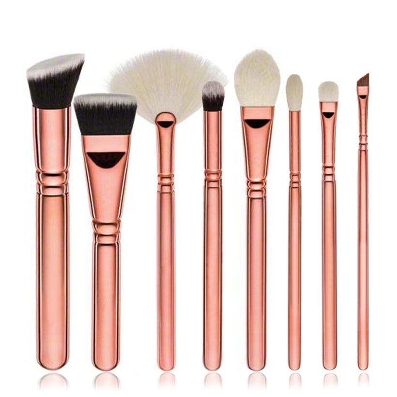 Hot!Hot Popular 8pcs Cosmetic Makeup Brush Blusher Eye Shadow Brushes Set Kit Nov 1