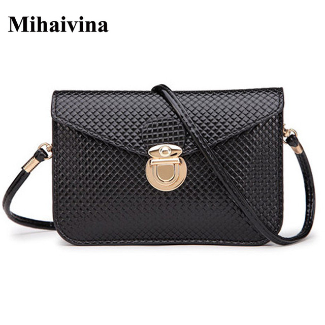 Mihaivina Casual Female Small Black Solid Waist Bag Femal Belt Bag Phone Pouch Bags Fashion Fanny Waist Pack Wholesale