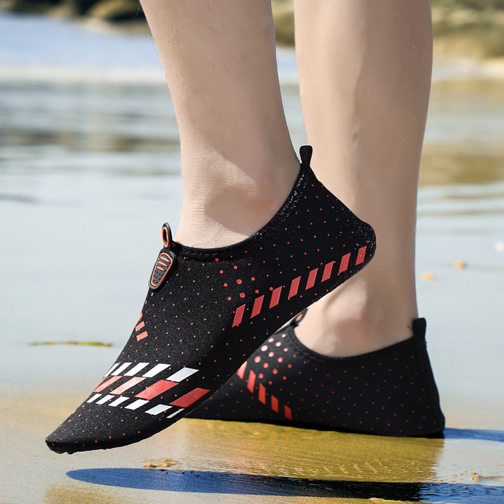 YOUYEDIAN Summer Couple's Quick Dry Aqua Socks Barefoot Beach Swim Yoga Flats Water Shoes Wet Shoes Outdoor Slip Footwear#g2