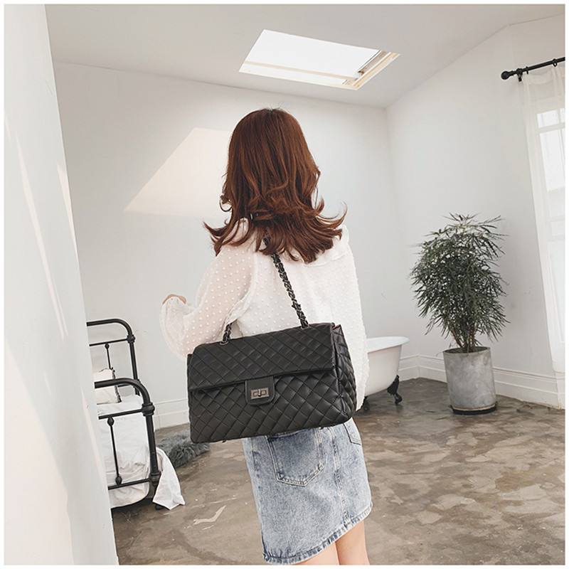 HTB1wiRpeBWD3KVjSZKPq6yp7FXa4 - Women's Messenger Bag | Diamond Pattern