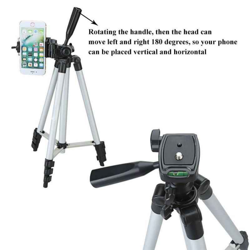 Универсальный телефон селфи палка для камеры штатив 23-50 дюймов алюминиевый штатив для Gopro iPhone Xiaomi SamSung HuaWei